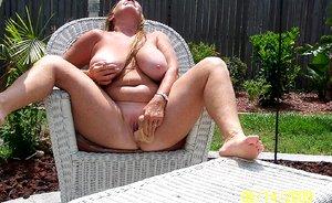 Mature Housewife bbw nudist
